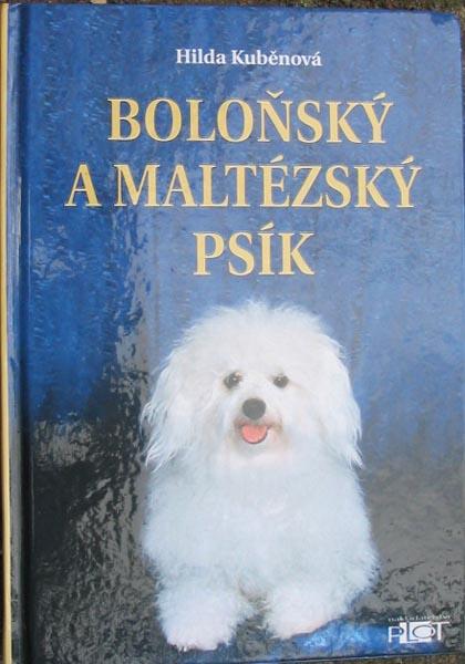 Knížka Boloňský a maltézský psík  paní Hildy Kuběnové